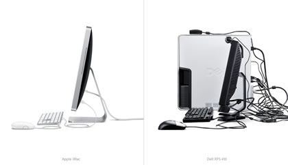 Comparaison iMac / Dell XPS 410