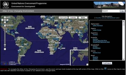 UNEP - Atlas of Our Changing Environment